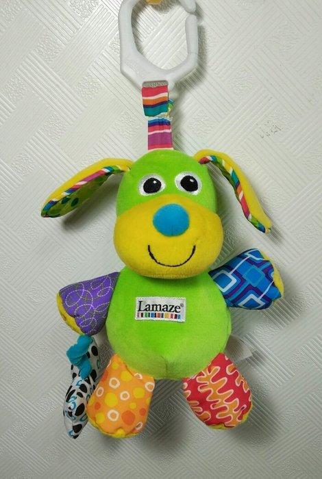 ☆奇奇娃娃(CP)☆Lamaze品牌,創意聲效布玩具~會汪汪叫的小狗狗車掛布玩具~290元
