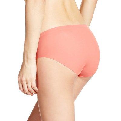 【京之物語】日本製GUNZE無接縫舒適無痕女性內褲(粉橘)-三種尺寸