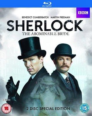 【藍光電影】神探夏洛克大電影 神探夏洛克:可惡的新娘 2016 Sherlock:The Abominable Bride  83-046