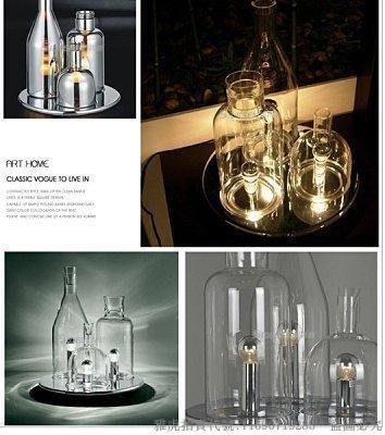【安安燈飾】熱賣款ITRE Rosati Bacco 123 table lamp 酒瓶玻璃 臺燈1 192