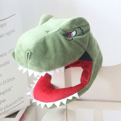 【現貨24h出貨】鯊魚頭套 恐龍頭套 鯊魚帽子 恐龍帽子 蕭敬騰同款 baby shark 交換禮物 搞怪拍照 抖音秋冬必備