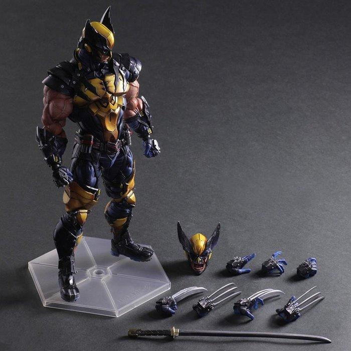 【南部總代理】Play Arts改 漫威 Marvel Wolverine 金鋼狼 港版 雷神索爾