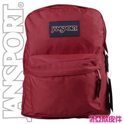 ☆東區亞欣皮件☆ JANSPORT Super Break 校園系列 43501- 5KS 磚紅