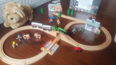 Brio 實木軌道小火車