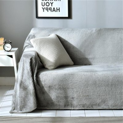 沙發罩 日式沙發床蓋布四季通用沙發巾全蓋萬能全包沙發墊套罩ins單人毯 MKS全館免運