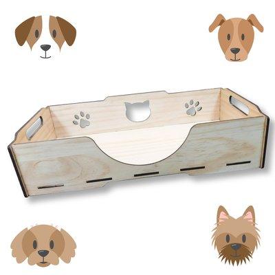 狗狗的好朋友~毛孩睡覺最佳選擇 KT001 KATIE凱蒂床組 床組單入含長抓 精選木質 毛小孩 寵物床 寵物睡墊 睡窩