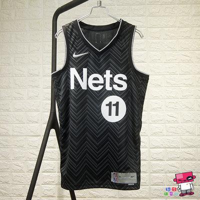 球鞋補習班 NIKE NBA BROOKLYN NETS籃網 KYRIE IRVING 球迷版球衣 CW6804-011