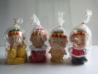 麥物堂珍藏公仔娃娃~『懷舊系列『小騎士2000年耶誕紀念款~絕版』*四款一組*絕版逸品*