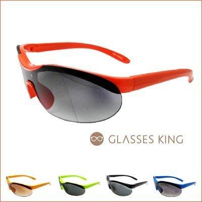 眼鏡王☆現貨!小孩兒童眼鏡太陽眼鏡墨鏡運動款一片式反光鏡片水銀綠藍黃紅黑橘色銀K21