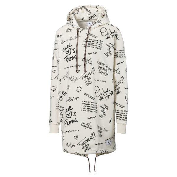 POMELO柚  PUMA SUE TSAI系列 塗鴉 連身裙 休閒運動風 白色 女款 595235-55