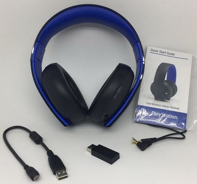 Soy 第三代 Gold Wireless(7.1) Headset 無線金耳機 (啡盒)for PS3/4/Vita
