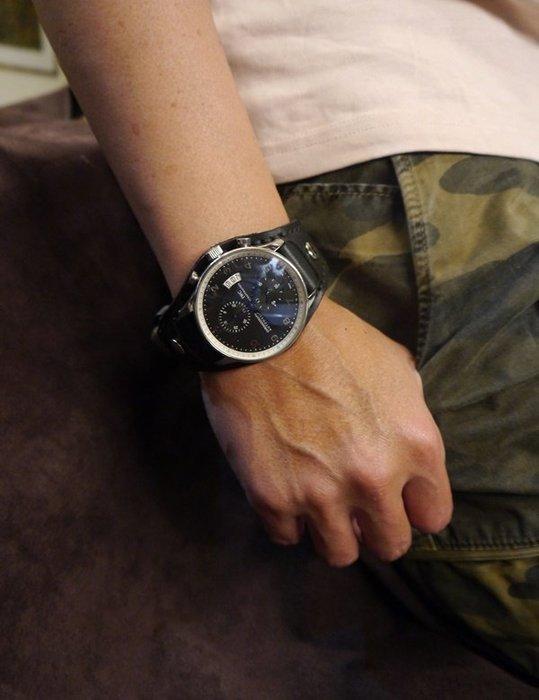 KH手工皮革工作室 客製量身訂作錶帶(需自行提供蝴蝶扣.錶面)全牛皮表帶製作 皮革顏色縫線可自選 實體店面歡迎參觀