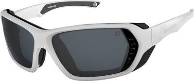 (I LOVE 樂多) wensotti 墨鏡 風鏡 太陽眼鏡 防風 抗UV 特殊偏光鏡片 (WI6826-S02亮白)