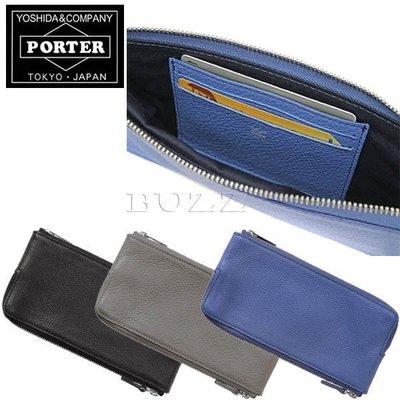 巴斯 日標PORTER屋-預購PORTER ARRANGE MULTI 雙邊收納 手機夾層 牛革長夾 029-03883
