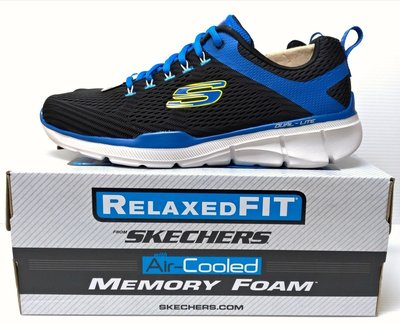 ✩Pair✩ SKECHERS 男鞋 慢跑鞋 52121/NVY RELAXED FIT MEMORY FOAM 記憶鞋墊 好穿好搭 AIR-Cooled