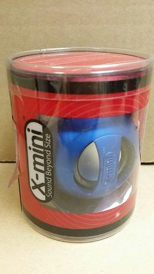 X-Mini Mini II Original Capsule Speaker Blue