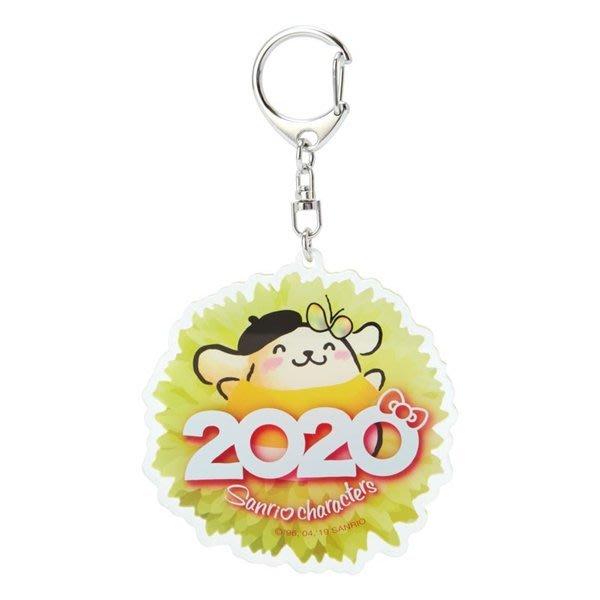 4165本通 壓克力鑰匙圈 2020- 布丁狗 酷洛米 酷企鵝 4901610164723 下標前請詢問