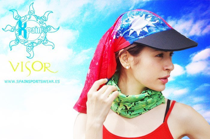 獨家專利Spain Multifunction Headwear Visor帽檐多功能頭巾 魔術頭巾 歐洲最具品味的頭巾