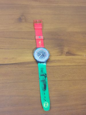 Swatch 設計品牌錶 限量錶 1996 亞特蘭大奧運紀念 Honour and Glory