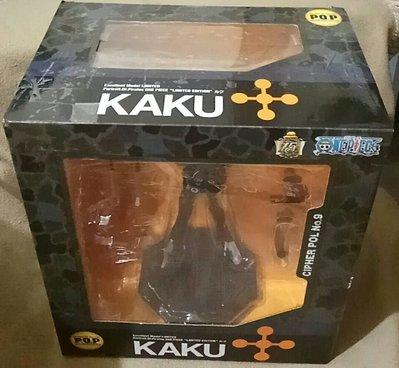 卡古 kaku cp9 pop 海賊王航海王 公仔 盒27X25X17