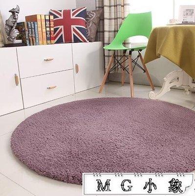 地墊 加厚羊羔絨圓形地毯 尚美優品