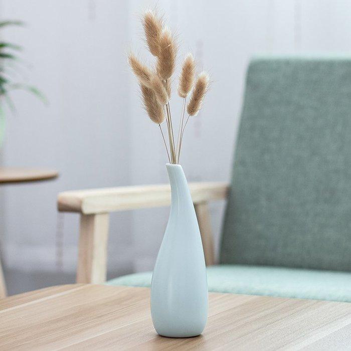 爆款創意干花花瓶小清新陶瓷擺件簡約日式插花假花客廳裝飾品水培花器#簡約#陶瓷#小清新