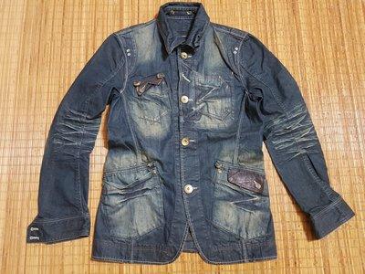 (抓抓二手服飾)  日本品牌RATTLE TRAP  牛仔外套  近全新   SIZE:03   *