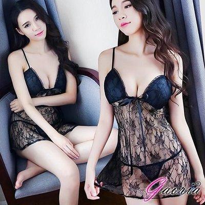 【Gaoria】床邊眷戀 浪漫蕾絲 性感情趣睡衣 N4-0073