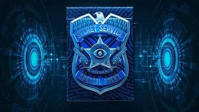 [fun magic] Secret Service Playing Cards 收藏牌