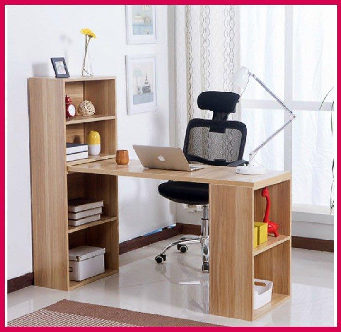 美好傢居~(外銷歐美高品質)環保台式電腦桌寫字桌宜家用書桌書架組合書櫃辦公書桌椅子簡約型 型號(日子桌)
