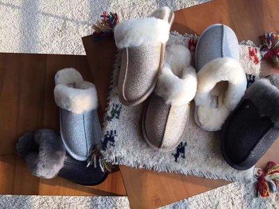 【全新正貨私家珍藏】UGG Scuffette II Sparkle Slipper 新款 保暖居家拖鞋1100177