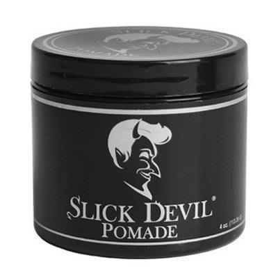 便宜生活館【造型品】Slick Devil Pomade 黑惡魔 乾黏 水洗式髮油 油頭  (可超取)