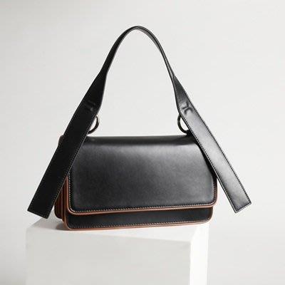 手提 包 真皮 肩背包-韓版時尚撞色風琴女包包3色73tn24[獨家進口][巴黎精品]