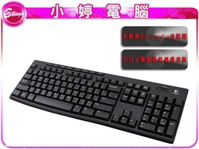 【小婷電腦*鍵盤】全新 羅技 K270 無線鍵盤 /八個多媒體功能鍵 / 2.4 GHz無線連線(含稅)