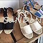 SaNDoN x UNGRID 今年夏天定番款 彩色編織麻布繽紛綁帶涼鞋 SLY MOUSSY 韓妮 170617