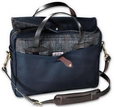 Filson  70066 Twill & Tweed Briefcase 羊毛 帆布公事包