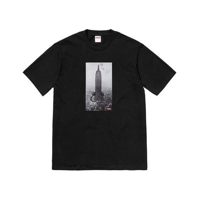 Supreme 18AW Mike Kelley the Empire State Building tee 黑色 聯名款 短T