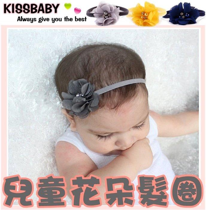 【兒童花朵髮圈】兒童髮式/ 女童髮箍/ 兒童髮圈/ 兒童造型用品/ 拍照用品/ 花朵寶寶髮帶