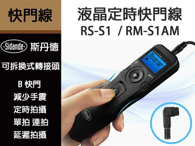 Sidande RS-S1 RM-S1...