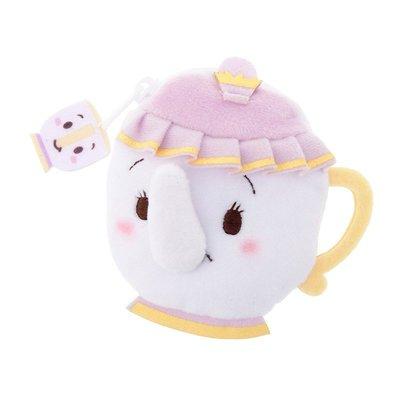 現貨 不用等 日本代購 迪士尼商店限定 ufufy 雲朵系列 美女與野獸 茶杯太太款 拉鍊零錢包 療癒小物 交換禮物 高雄市