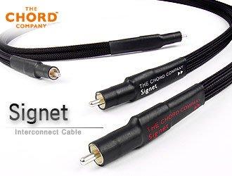 【風尚音響】CHORD Signet 英國原裝進口 RCA 聲音訊號線