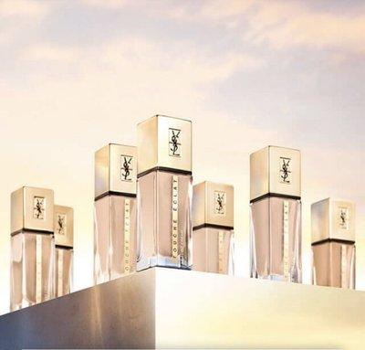 Luna🌸【新品上市】 全新YSL 2020超模光感極潤粉底5ML 光澤粉底 自帶超模光 台灣專櫃中文標