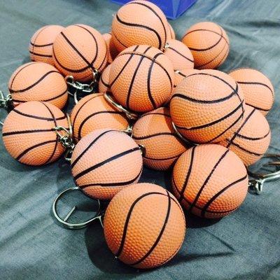 AD lib 代購 軟橡膠 籃球造型 鑰匙圈 新北市
