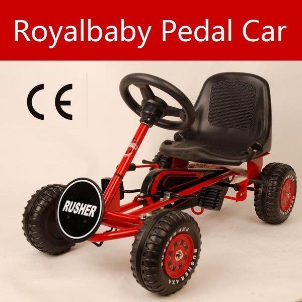 e世代Royalbaby Pedal Car優貝卡丁車Go kart四輪車F1賽車兒童腳踏車4輪兒童車自行車腳踏式越野車
