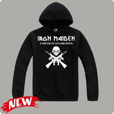【Iron Maiden+IN FLAMES+Children Of Bodom+Alice In Chains】連帽T