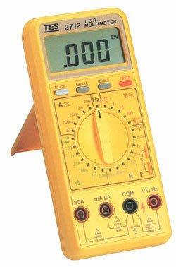 TECPEL 泰菱》泰仕 TES-2712 LCR 數位式電錶 LCR表 三用電表 台灣電表 LCR TES2712