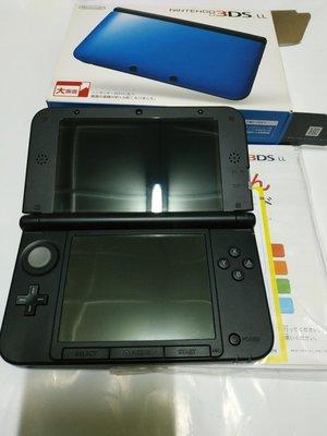 缺貨中~請先詢問庫存量~~ 3DS LL 日規主機 藍色 對應 NDS 3DS 日規遊戲