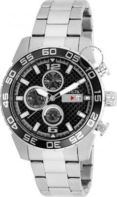 展示品 Invicta 21375 Specialty Quartz Chronograph Date Stainless Steel Mens Wa