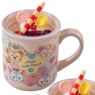 日本 海洋迪士尼 暖心情人節系列 點心馬克杯