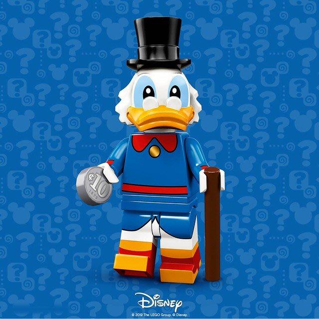 現貨【LEGO 樂高】積木 / 人偶包系列 迪士尼2 DISNEY 71024 |  #6 唐老鴨 McDuck